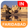 Faridabad, India Offline Map